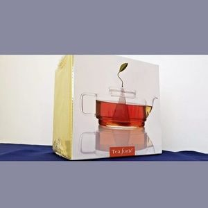 Tea Forte Sontu Artisan Glass Teapot in Box